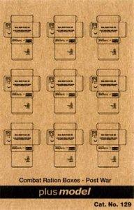 U.S. Kartons - Nachkrieg · PM 35129 ·  plusmodel · 1:35