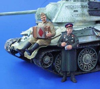 Soldaten der roten Armee WW II · PM 35132 ·  plusmodel · 1:35