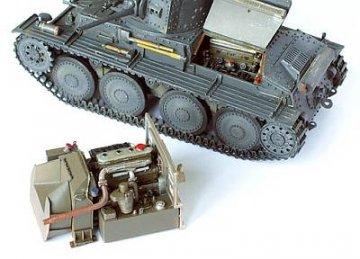 PzKpfw. 38 (t) Motor · PM 35133 ·  plusmodel · 1:35