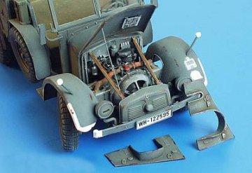 Krupp Protze Motorset · PM 35134 ·  plusmodel · 1:35