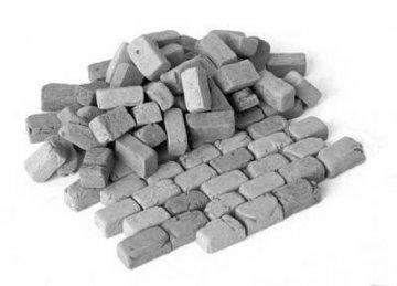 Pflastersteine, groß, Granit · PM 35135 ·  plusmodel · 1:35