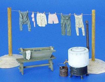 Feld Waschküche · PM 35153 ·  plusmodel · 1:35