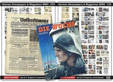 Deutsche Zeitungen WW II · PM 35165 ·  plusmodel · 1:35