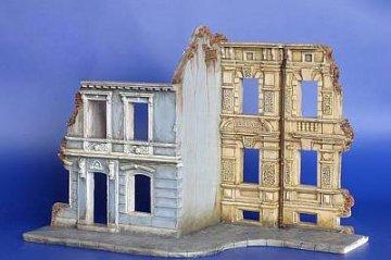 Häuserblock Ruinen · PM 35176 ·  plusmodel · 1:35