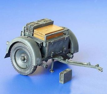 Sd. Anh. 33 Munitionsanhänger für Nebelwerfer · PM 35179 ·  plusmodel · 1:35