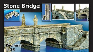 Steinbrücke · PM 35187 ·  plusmodel · 1:35