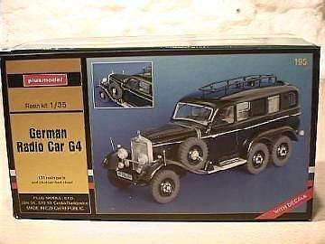 Deutscher Funkwagen G4 · PM 35195 ·  plusmodel · 1:35
