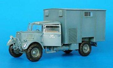 Britischer Lastwagen 11/2 t WOT 3 Workshop · PM 35199 ·  plusmodel · 1:35