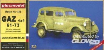 GAZ 4x4 61-73 · PM 35239 ·  plusmodel · 1:35