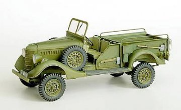Geschütz-Zugmaschine GAZ 61-417 Pickup · PM 35247 ·  plusmodel · 1:35