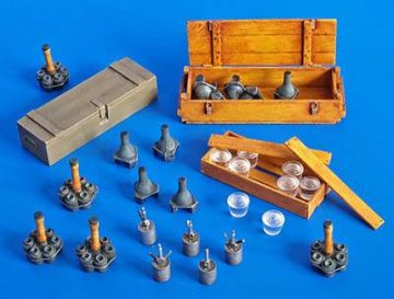 Deutsche Granaten und Minen · PM 35274 ·  plusmodel · 1:35