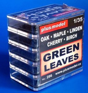 grüne Blätter · PM 35286 ·  plusmodel · 1:35