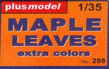 Ahornblätter - extra Farben · PM 35288 ·  plusmodel · 1:35