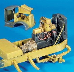 Opel Blitz Motor für Italeri Bausatz · PM 35301 ·  plusmodel · 1:35