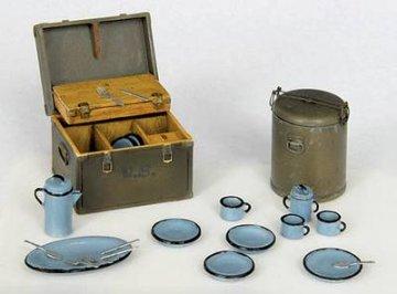 U.S. Feld Ausrüstung (Essen) M 1941 · PM 35304 ·  plusmodel · 1:35