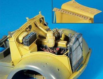 Opel Blitz Motor für Tamiya Bausatz · PM 35313 ·  plusmodel · 1:35
