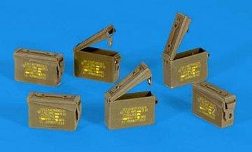 U.S. Munitions-Kisten Cal. 7,62 · PM 35317 ·  plusmodel · 1:35