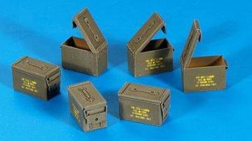 U.S. Munitions-Kisten Cal 5,56 · PM 35318 ·  plusmodel · 1:35
