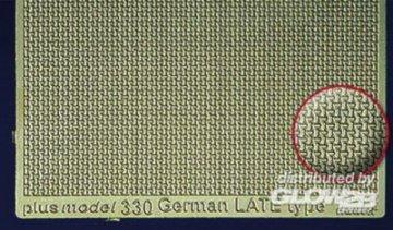 German Late Engraved Plate · PM 35330 ·  plusmodel · 1:35