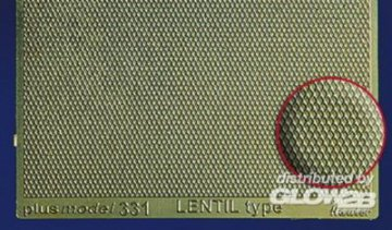 Lentil Type Engraved Plate · PM 35331 ·  plusmodel · 1:35