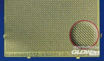 Modern Lentil Engraved Plate · PM 35332 ·  plusmodel · 1:35