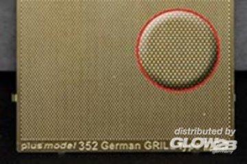 Engraved plate - German Grill · PM 35352 ·  plusmodel · 1:35