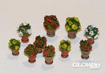 Blumen in Blumentöpfen · PM 35380 ·  plusmodel · 1:35