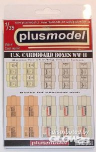 U.S. Faltkartons · PM 35381 ·  plusmodel · 1:35