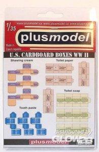 U.S. Faltkartons · PM 35382 ·  plusmodel · 1:35