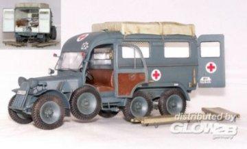 Deutscher Krankenwagen Kfz.31 Steyr 640 · PM 35403 ·  plusmodel · 1:35
