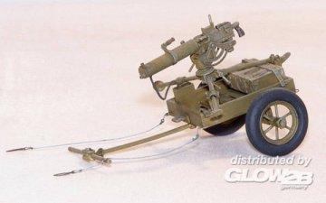 U.S. Handkarren M3A1 mit Browning 0,3 · PM 400 ·  plusmodel · 1:35