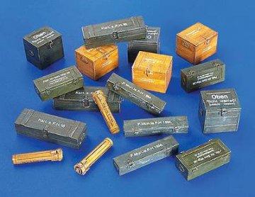 Munitionsboxen Deutschland II. Weltkrieg · PM 4021 ·  plusmodel · 1:48