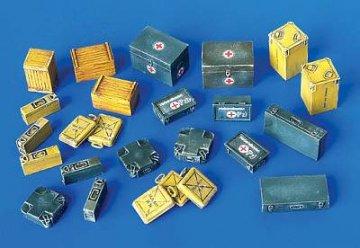 Munitions- und Erste-Hilfe-Kisten · PM 4023 ·  plusmodel · 1:48