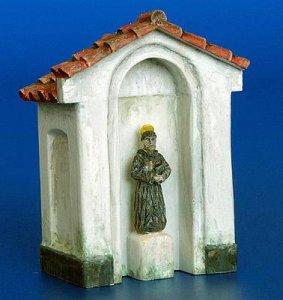Kapelle mit einer Statue · PM 4024 ·  plusmodel · 1:48