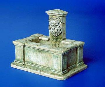 Brunnen Eckig · PM 4027 ·  plusmodel · 1:48