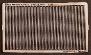 Stacheldraht WW II · PM 4037 ·  plusmodel · 1:48