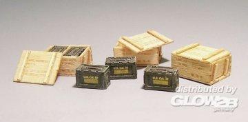 US  wooden ammunition boxes - Vietnam · PM 420 ·  plusmodel · 1:35