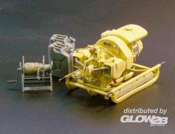 German power generator WWII · PM 421 ·  plusmodel · 1:35