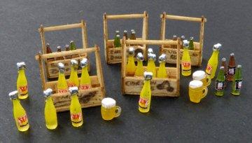 Berry and lemonade crates /Beeren- und Limonadenkisten · PM 422 ·  plusmodel · 1:35