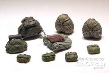 German rucksacks WWII · PM 424 ·  plusmodel · 1:35