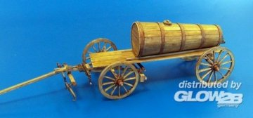 Hay wagon with wooden tank · PM 428 ·  plusmodel · 1:35