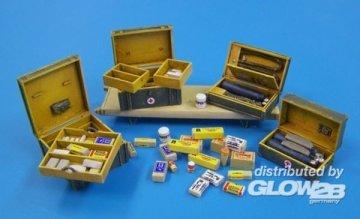 German medical set · PM 434 ·  plusmodel · 1:35