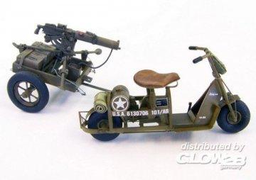 U.S. airborne scooter with machine gun · PM 439 ·  plusmodel · 1:35