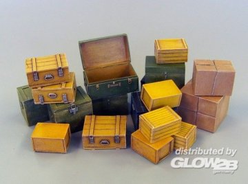 Small transport boxes · PM 452 ·  plusmodel · 1:35