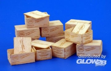 U.S.Wooden crates for cigaretes WWII - Type I · PM 479 ·  plusmodel · 1:35