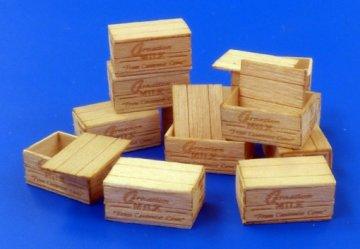 U.S.Wooden crates for condensed milk · PM 481 ·  plusmodel · 1:35
