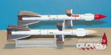 Russian missile R-27R AA-10 Alamo-A · PM 48AL4003 ·  plusmodel · 1:48