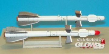 Russian missile R-27ET AA-10 Alamo-D · PM 48AL4008 ·  plusmodel · 1:48
