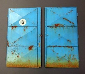 Workshop doors · PM 503 ·  plusmodel · 1:35