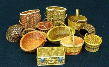 Wicker baskets-small · PM 507 ·  plusmodel · 1:35